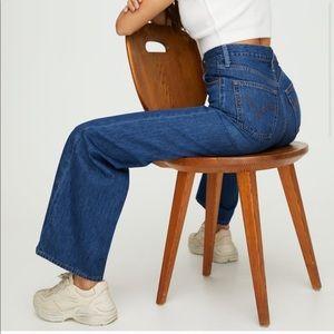 Levi's Ribcage Wide Leg Jean